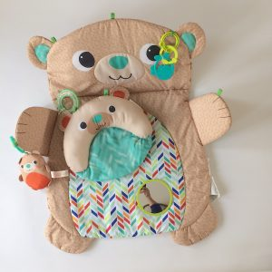 Bright Starts Prop & Play Tummy Time Bear Mat