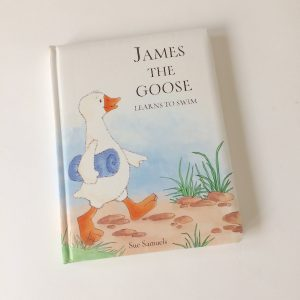 Jellycat James The Goose Board Book
