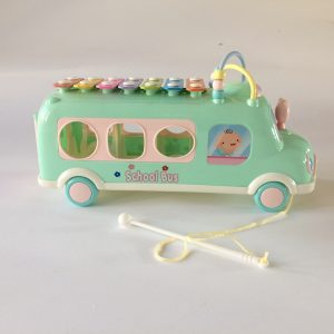 Multi-Functional School Bus Learning Toy