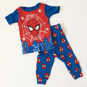 Spiderman Pajamas Set by Marvel