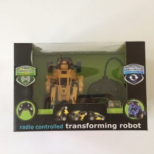 The Black Series Radio Controlled R/C Transforming Robot