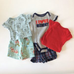Tops and Shorts Basics for Baby