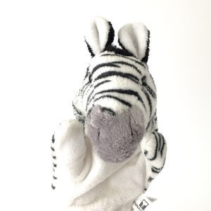 Wildlife Artists, Inc Zebra Hand Puppet