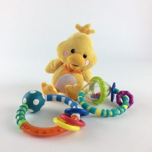 Duckie and Teethers Infant Toy Set