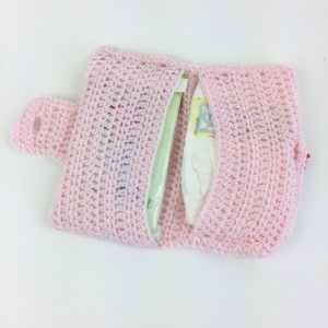 Crochet Diaper Clutch