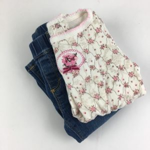 Jeans and a Tee, Size 6-12M
