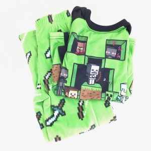Minecraft Pajamas Size 6/7