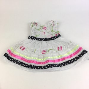 Pink and Black Dress Size 24M