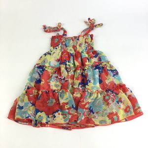 Retro Floral Dress Size 2T