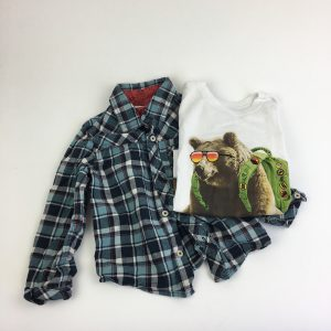 The Backpacking Bear Set Size 5T