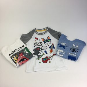 The Monster Crew Set Size 5T