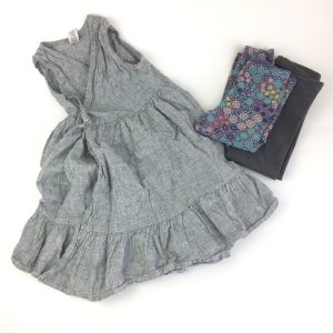 Tea Collection Dress and Leggings Size 5