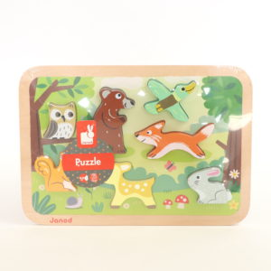 Janod Forest Friends Stand-up Puzzle
