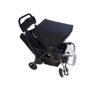 Joovy Caboose Too Ultralight Stand-On Tandem Stroller, Black