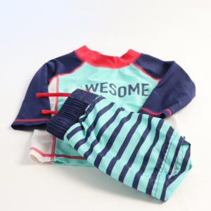 Cat and Jack Swimsuit Set Size 6-9M