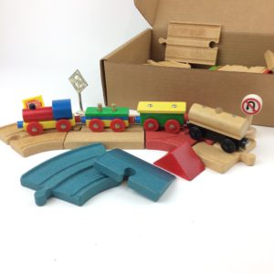 Train Time Box The Magnetic Train Set