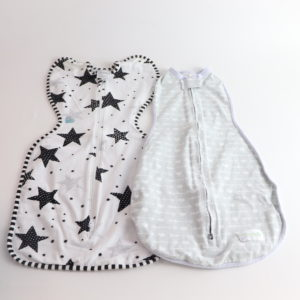 Arrows and Stars Sleep Swaddle Set Size Small