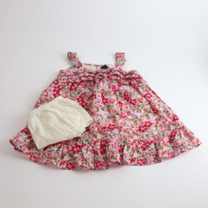 Baby Gap Floral Dress Size 12-18M