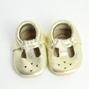Bird Rock Baby Moccasin Sandals Size 5.5