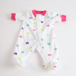 Carters Fleece Pajama Size Preemie