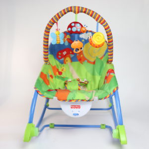 Fisher-Price Infant-to-Toddler Rocker Snail Pattern