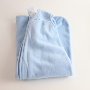 Halo Fleece Sleep Sack Light Blue Size Small