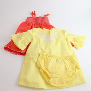 Janie and Jack Summer Dress Set Size 6-12M
