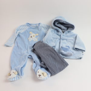 The Baby Blue Set Size 0-3M