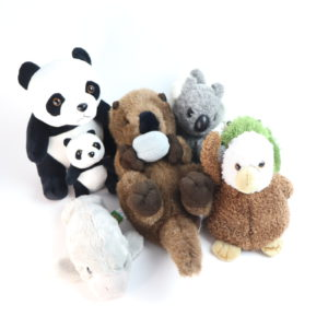 Wildlife Learn and Play Plush Bundle