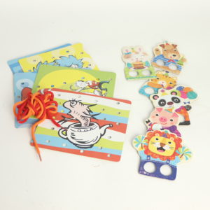 Dr. Seuss Lacing Cards and Finger Leg Puppets