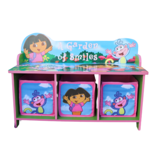 Dora The Explorer Storage Bench